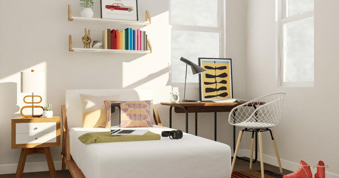 7 Design Hacks For When Your Bedroom Is